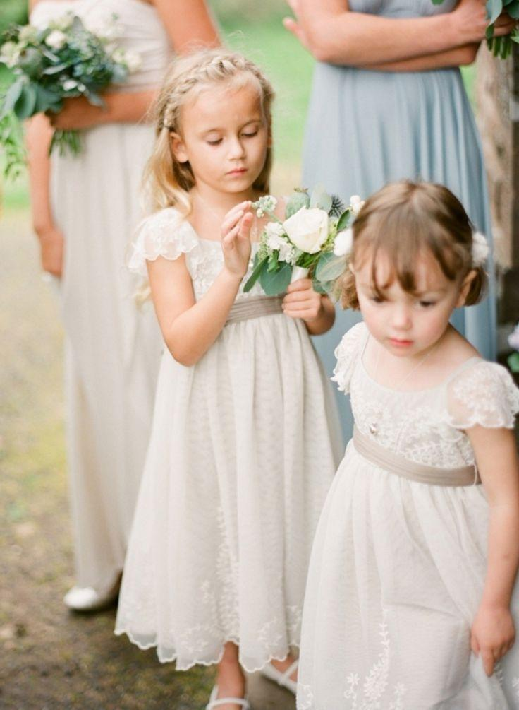 Vintage Cute Flower Girl Dress